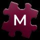 Maroon Jigsaw - M